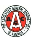 AGC Vinyl Logo Red and Black, 24 inches