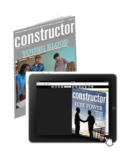 Constructor Magazine Cover